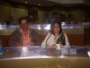 Photo: AGS Gombhi with Rekha Jain