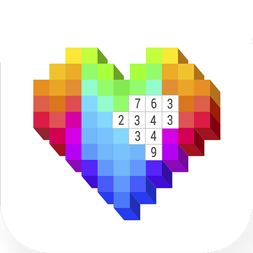 Voxel Art 3D Color by Number - Pixel Sandbox Game Icon