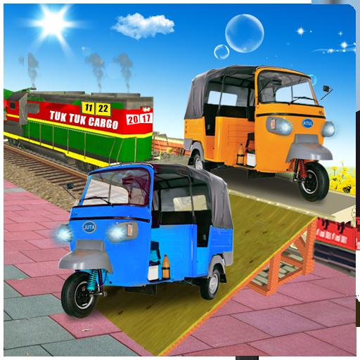 Tuk Tuk Cargo Train Transport