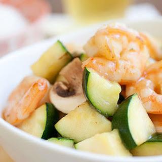 Zucchini and Shrimp Stir-Fry