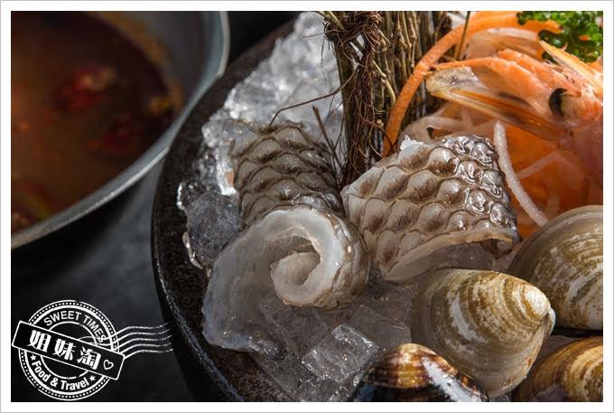 九勺涮涮鍋膠原魚皮