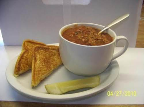 "Turkey Chili ""Just made this. Although I made it with chicken stock and..."