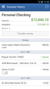 Alliance CU Mobile Banking screenshot 2