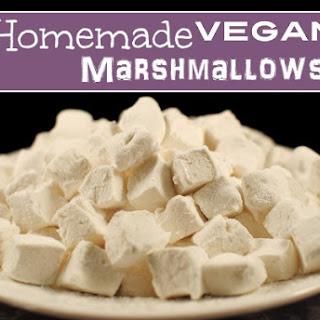 Easy Homemade Vegan Marshmallows
