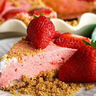 No-Bake Strawberry Banana Cheesecake.