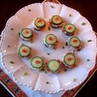 Spicy Cucumber Bites.