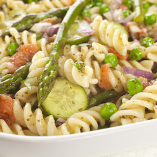Asparagus and Veggie Pasta Salad