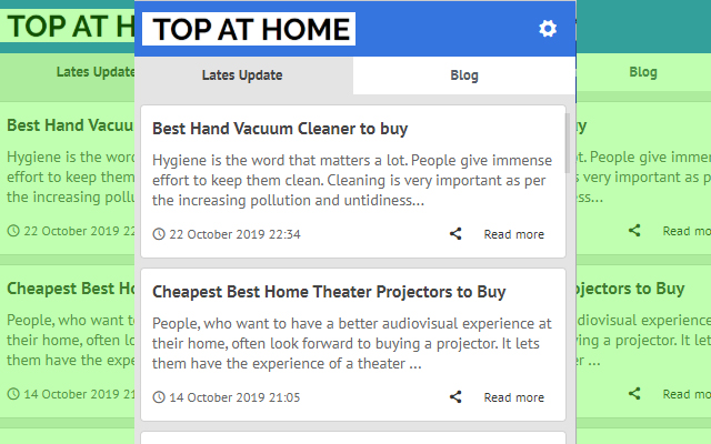 Top At Home - Latest Update News