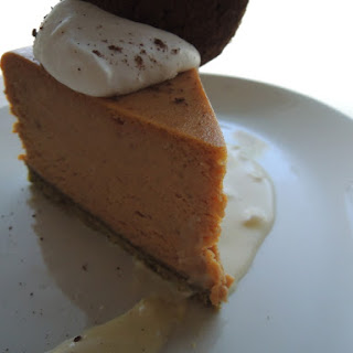 Messhall's Pumpkin Cheesecake