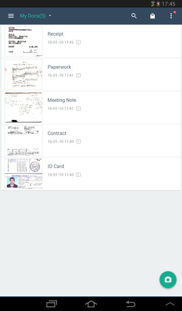 CamScanner - Phone PDF Creator Screenshot 16