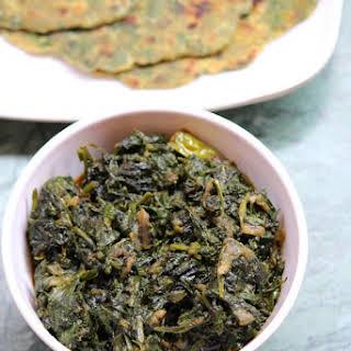 Palak Sabji Recipe or Palak Ki Sabzi.