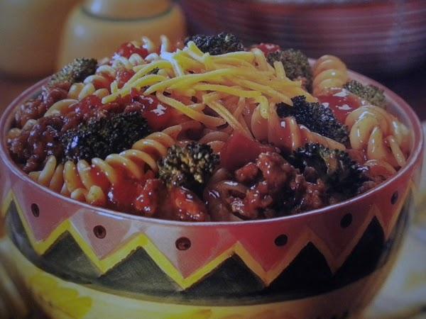 Broccoli And Beef Pasta Recipe