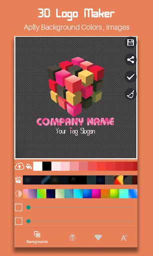 3D Logo Maker 2019 1.2 screenshots 1