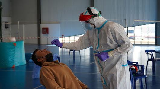 Salud cita en Berja a 430 vecinos para el cribado masivo de test de antígenos