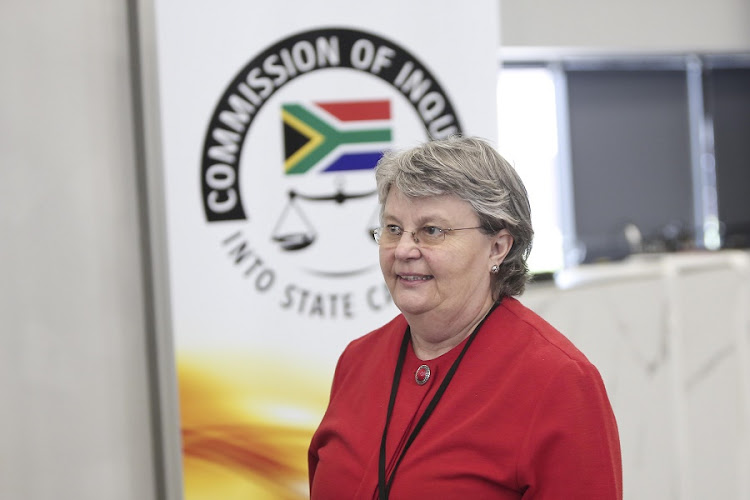 Former Minister of Public Enterprises, Barbara Hogan at the Commission of Inquiry into State Capture in Parktown on October 10 2018. Her testimony was postponed to November 12 to give those implicated in her affidavit enough time to respond. Picture: ALAISTER RUSSELL/THE SUNDAY TIMES