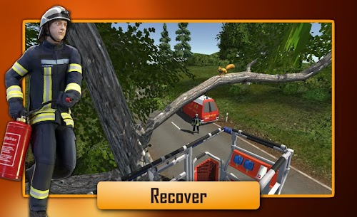 Screenshot 4 Emergency Call – The Fire Fighting Simulation 1.0.1065 APK+DATA hack