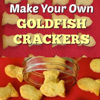 DIY 2 Ingredient Gluten Free Goldfish Crackers