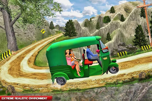 Mountain Auto Tuk Tuk Rickshaw : New Games 2020 screenshots 5