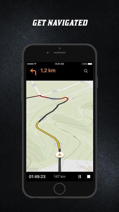 NaviRider - Motorcycle Navigation & GPS Tracker- screenshot