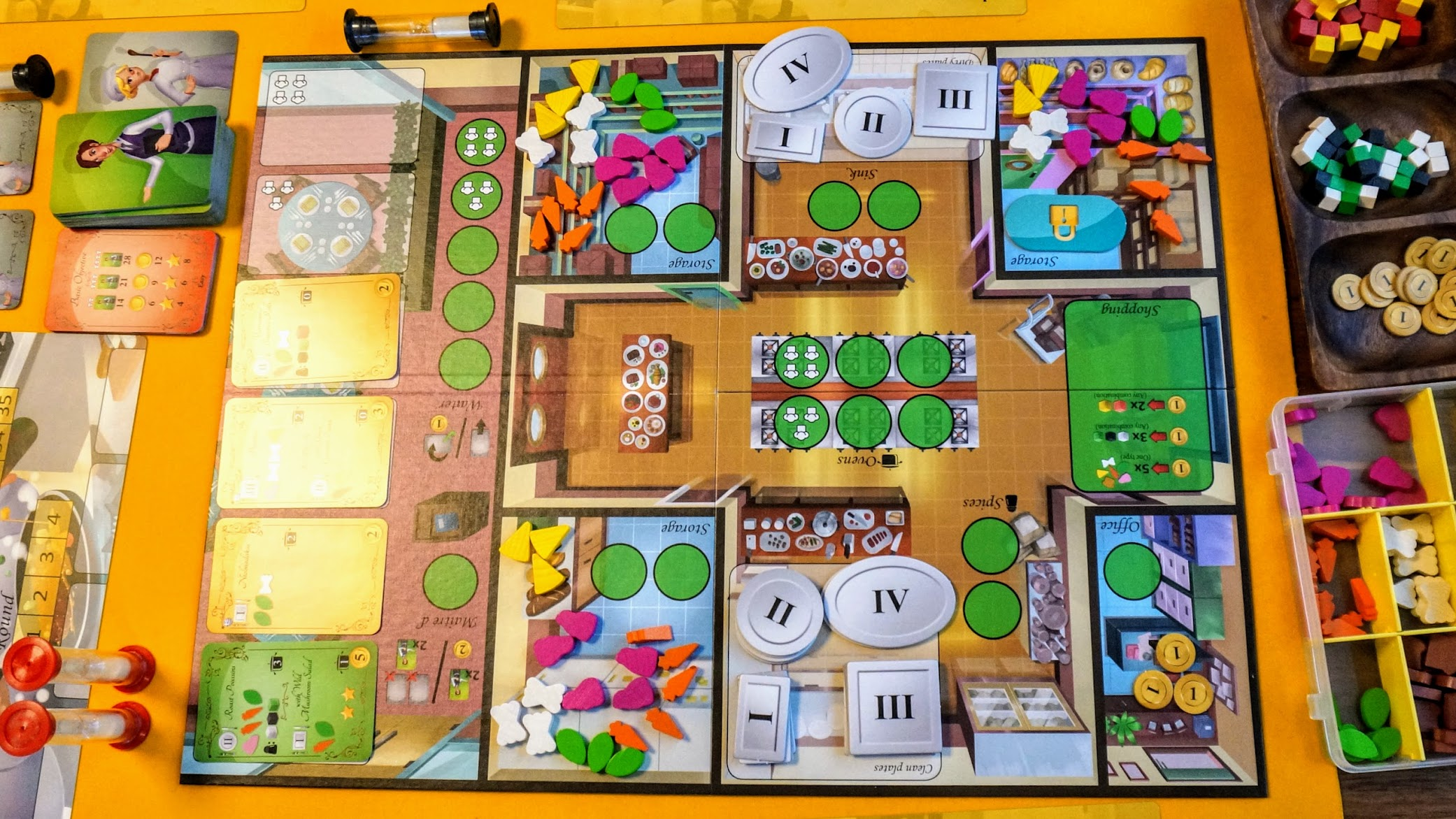 キッチンラッシュ:ゲームボード