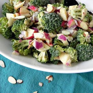 Chopped Broccoli Salad with Tahini Dressing Recipe