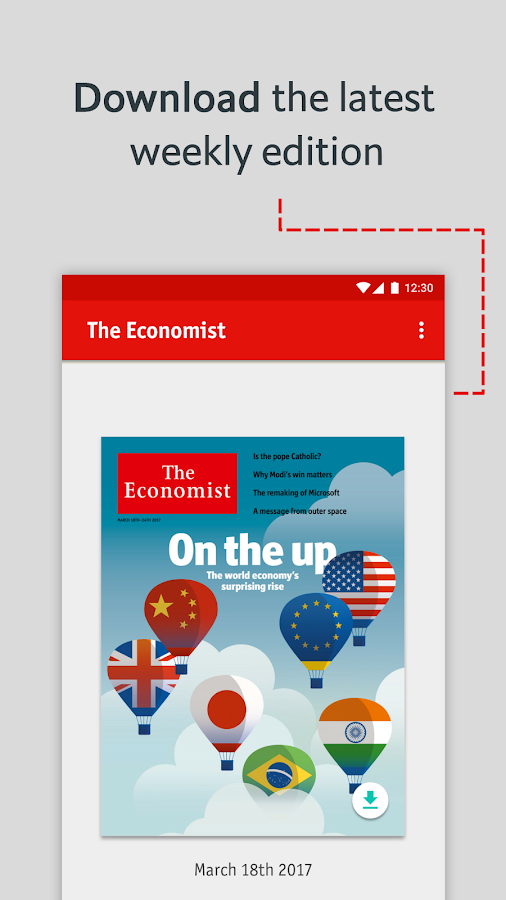 The Economist: World News- screenshot