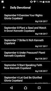 Kenneth Copeland Daily Devotional - náhled