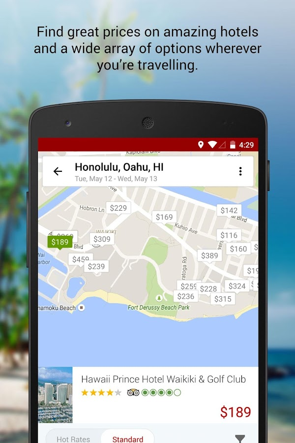 Hotwire Hotel & Car Rental App - Android-apps op Google Play