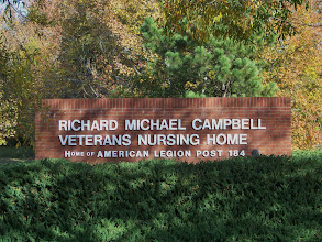 Photo: Entrance To The Veterans Nursing Home