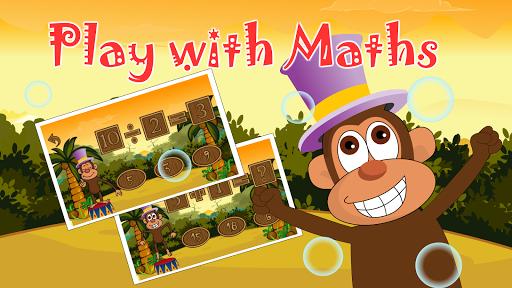 Monkey Math School for Kids