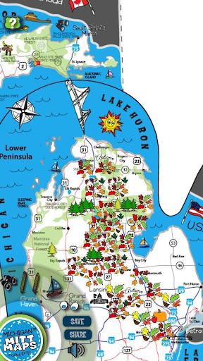 Michigan Mitt Maps