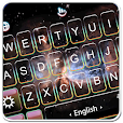 Live 3D Starry Galaxy Keyboard Theme