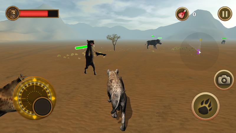 Скриншот Hyena Simulator