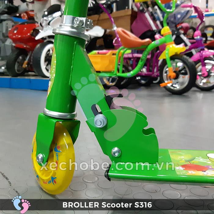 Xe trượt Scooter trẻ em Broller S316 8