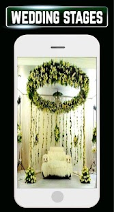 Wedding Stage Decoration Entrance DIY Gallery Idea - náhled