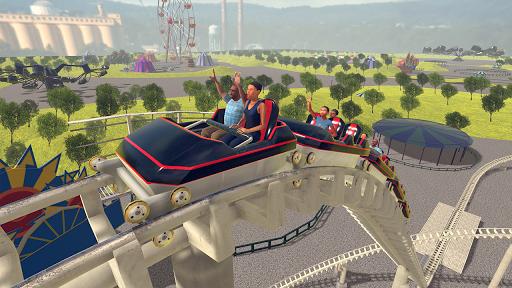 Code Triche Roller Coaster Games 2020 Theme Park APK Mod screenshots 1