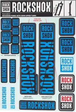 RockShox Decal Kit, 35mm alternate image 2