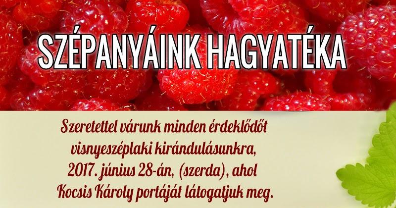 Szépanyáink hagyatéka - zöldségek és gyümölcsök tartósítása - 201.06.28 Bárdudvarnok