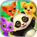 Little Pet Friend Pals Match 3 icon