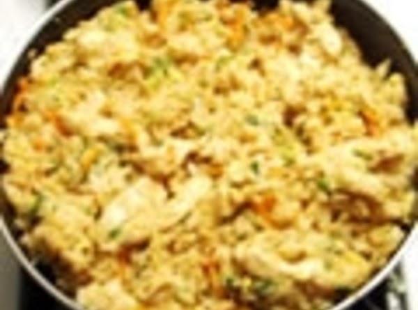 Roasted Garlic Teriyaki Fried Rice With Chicken Recipe