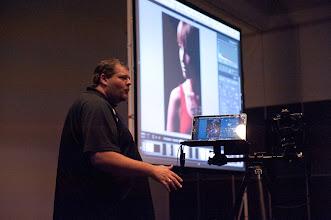 Photo: Lighting Master Frank Doorhof was my guest speaker