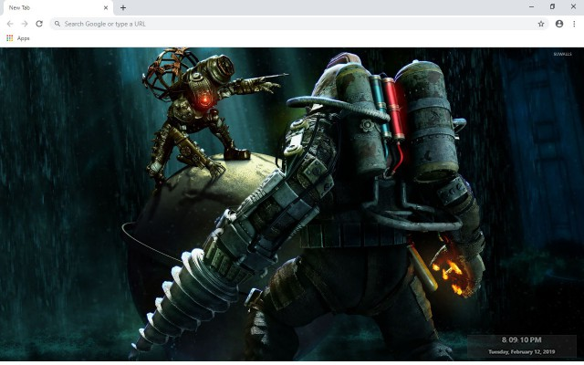 BioShock New Tab & Wallpapers Collection