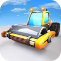Heavy Excavator Road Roller Construction Machines icon