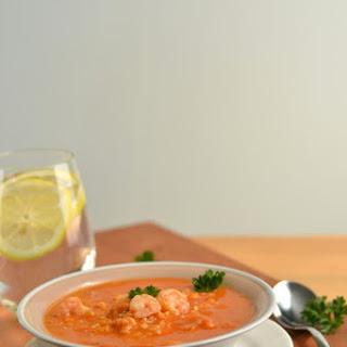 Cajun Shrimp Soup.