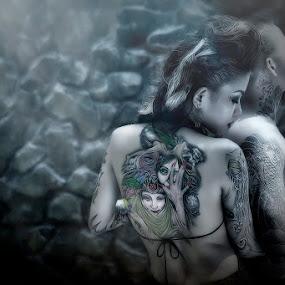 Destiny by Maybelle Blossom Dumlao-Sevillena - People Body Art/Tattoos