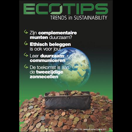 ecoTips 17.2 met focus op ecofinance