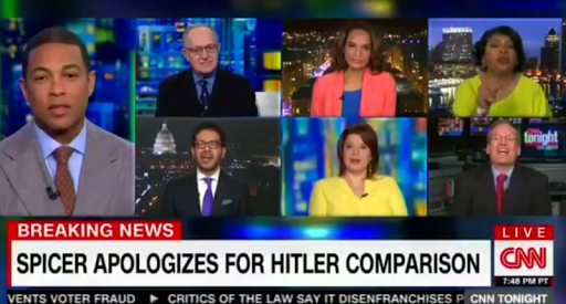 CNN roiled with racial and partisan identifiers