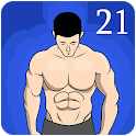 Arms & Back -  21 Days Fitness Challenge icon