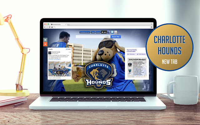 Charlotte Hounds New Tab