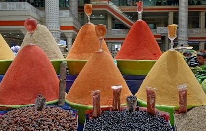 Lovingly arranged spices.